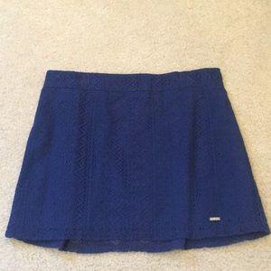 NWOT Abercrombie lace mini skirt